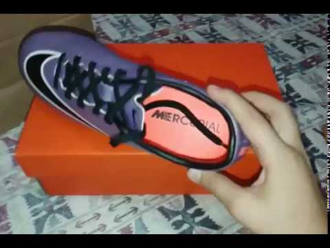 aa086a3280d3 Unboxing   Nike Mercurial Victory V - YouTube