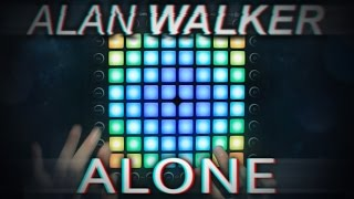 Alan Walker Alone | Launchpad Pro Cover
