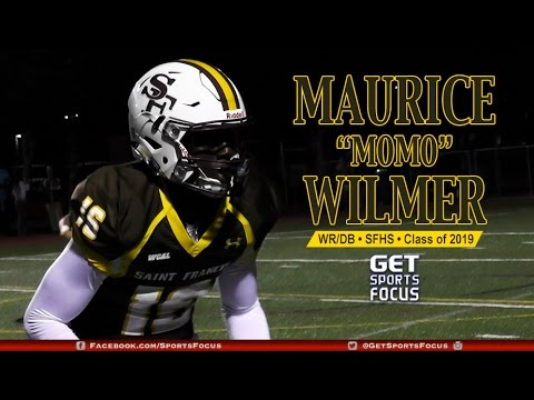 """Maurice """"MoMo"""" Wilmer II • St. Francis Lancers   Class of 2019"""