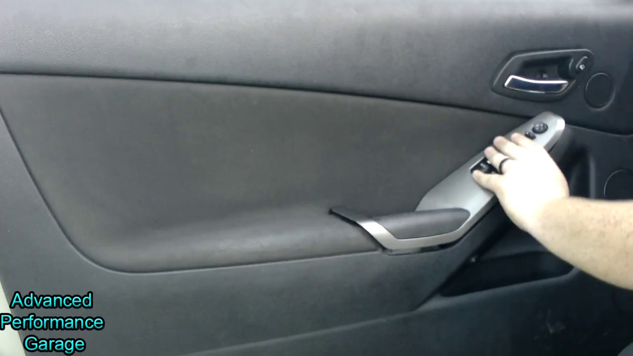 hight resolution of how to remove the door panel in a pontiac g6