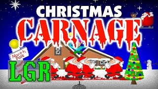 LGR - Christmas Carnage - DOS PC Game Review