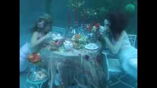 Real Underwater Mermaid Tea Party!