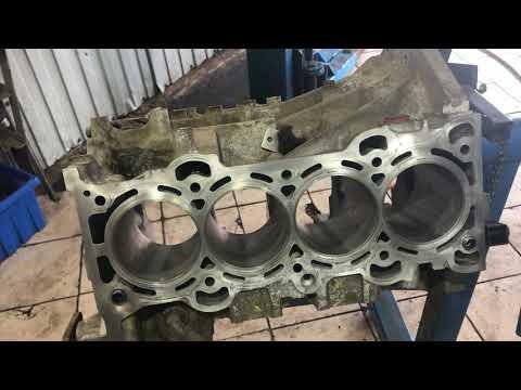 жор масла ремонт / Mazda 3 2.0 часть 2