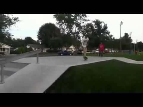 Kickflip at Dalton SkatePark