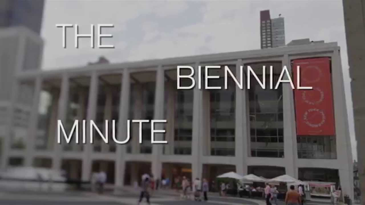 """The Biennial Minute"": Episode Four"