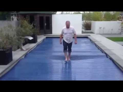 Compass Pools Safety Cover Solar Youtube
