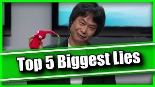 Top 5 Biggest Lies From Nintendo