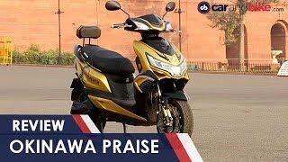 Okinawa Praise Electric Scooter Review   NDTV carandbike