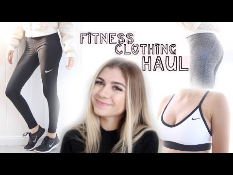 Fitness Clothing Haul   Try On