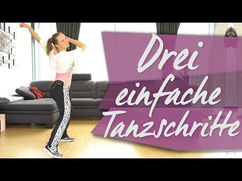 Einfacher tanzschritt