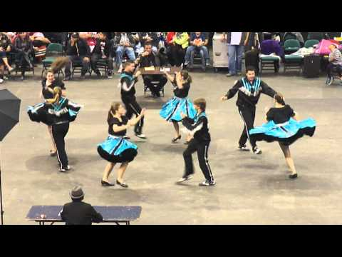 Manito Ahbee Square Dance Competition - 2014 - Second Dance of the Day