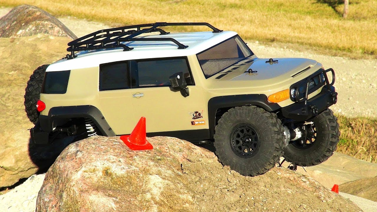RC ADVENTURES - Does it WORK? Rock Crawling TiPS & TRiCKS - TOYOTA FJ CRUiSER - HPi VENTURE
