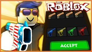 Murder Mystery 2 Trolling | GUEST TRADING CLASSICS!? | Roblox