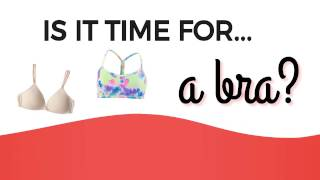 3 Reasons to Buy Your First Bra