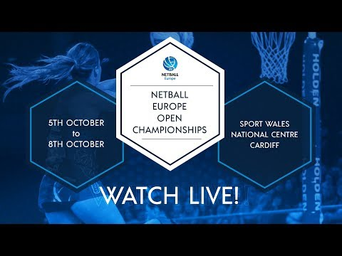 LIVE | England v Wales | Netball Europe Open Championships