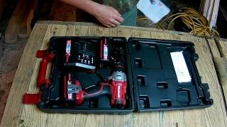 Розпакування та тест акумуляторного інструменту Einhell (шуруповерти, шабельна пила, болгарка)