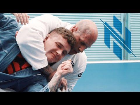 Jiu Jitsu MMA Training with Martyn Ford at Gracie Barra