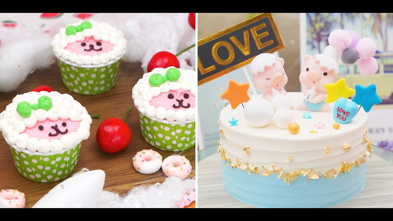 Easy & Quick Cake Decorating Tutorials for Everyone | Amazing Colorful Cake Compilation | Mina Cake