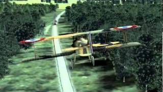 Rise of Flight: Trainingsmission Bodenangriff