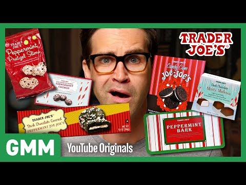 Trader Joe's Peppermint Taste Test