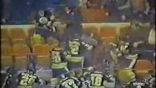 1979 boston bruins invade MSG stands new york rangers