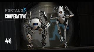Portal 2 Cooperativo |De puente a puente y tiro porque me lleva la corriente| #6