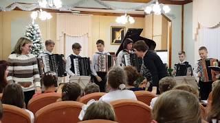 Вечерний звон Оркестр баянов и аккордеонов ДМШ 11
