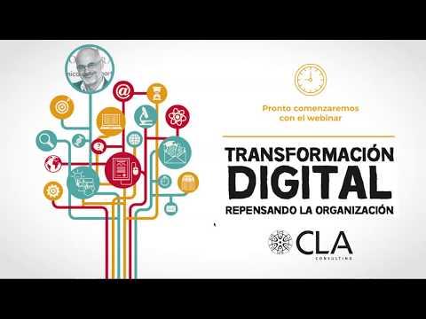 """Webinar """"Transformación Digital: Repensando La Organización"""""""