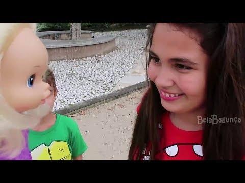 CAÇA OVO DE PÁSCOA SECRETO Baby Alive Bia Bagunça, Bela e Magu