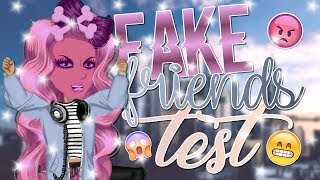 FAKE FRIENDS TEST! OMG!