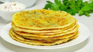 Сырные лепешки на сковороде. Быстрый рецепт от Всегда Вкусно!