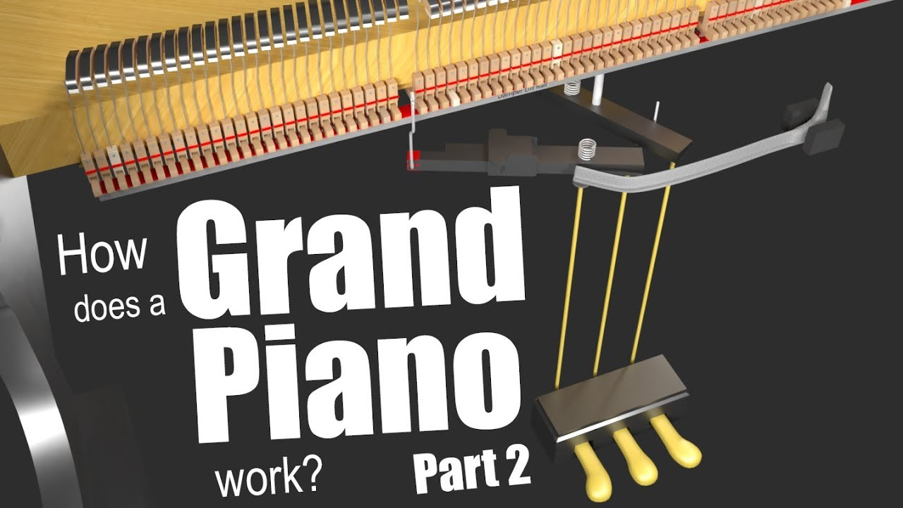 How does a Grand Piano work? - Part 2