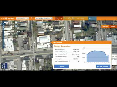 NYC Solar Map Demo