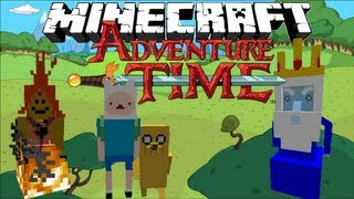 Minecraft: ADVENTURE TIME! - Finn and Jake's Adventure | Part 1 - (1.6.2 Adventure Map)