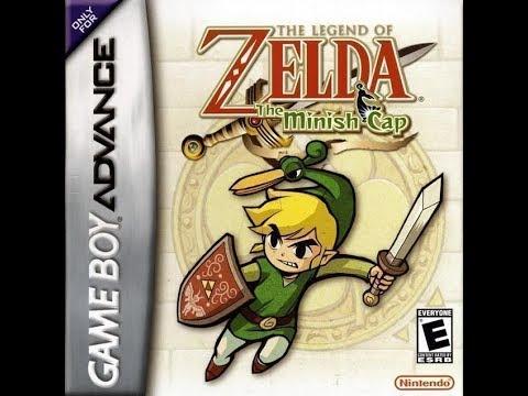 The Legend Of Zelda Minish Cap: