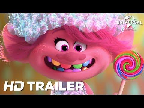 Trolls Pa Verdensturne I Biografen 2 Juli Dansk Trailer Universal Pictures Hd Youtube