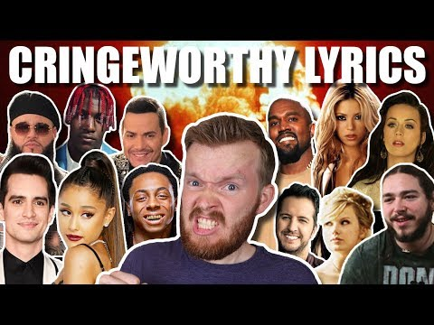 "11 COMPLETELY TERRIBLE LYRICS!!! | ""I'm a venereal disease"""