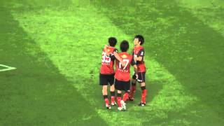 2013J1第15節 鹿島3-1清水 野沢の焦らしゴール