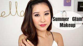 Summer Glam Makeup Thumbnail
