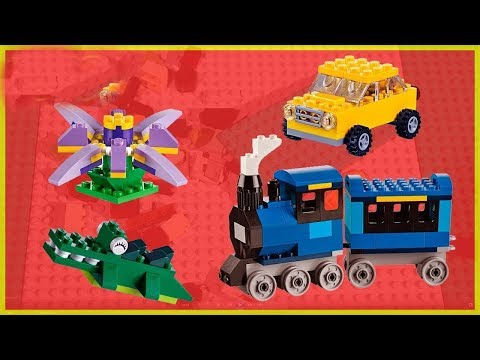 Thumbnail: ThoMas And Friends Train maker with Lego Legos Cars and Trucks, crocodile, Flower GERTIT