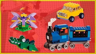 Let's Build Thomas And Friends Train with Lego Bricks - Stop motion Video by Gertit Toys Review thumbnail