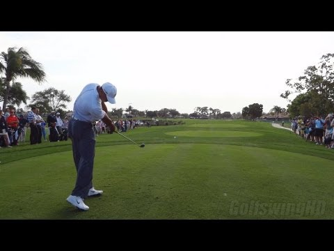 Tiger Woods Slow Motion Swing Compilation 2013