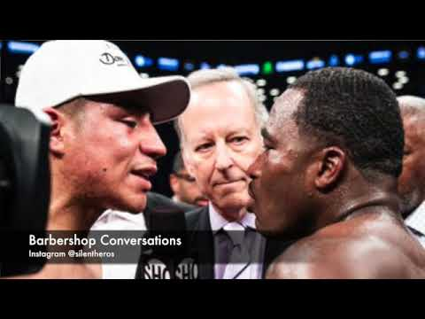 IMAGINE IF BRONER LET HIS HANDS GO AS MUCH AS HE RUNS HIS MOUTH!WILL CRAWFORD FIGHT FLOP