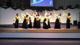 "SHBS Shekinah ""The presence of the lord"" praise dance!!!"