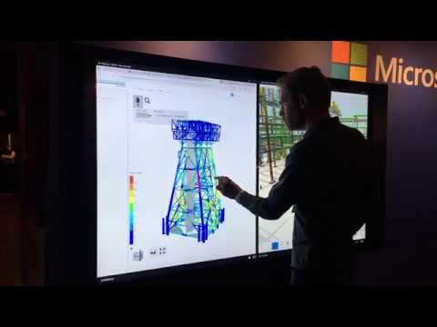 Sneak peek: DNV GL digital twin viewer for offshore structures