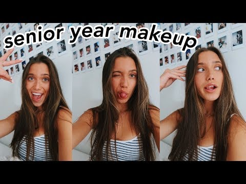 doing my makeup for senior year + macbook giveaway (closed)