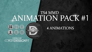 �������� ���� The sims 4 - MMD dance : ANIMATION PACK #1 (Test Video) *DOWNLOAD* ������