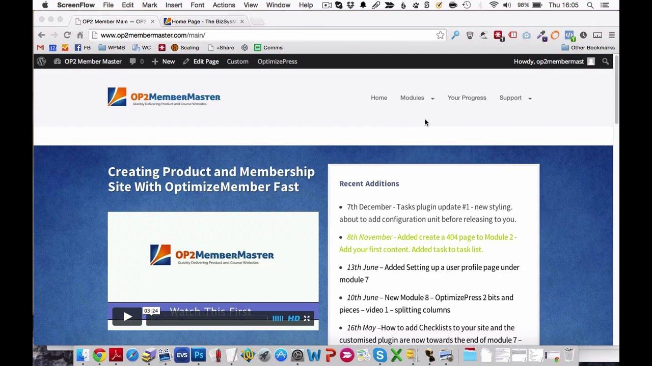 OptimizePress 2 - Theme Vs Plugin - YouTube