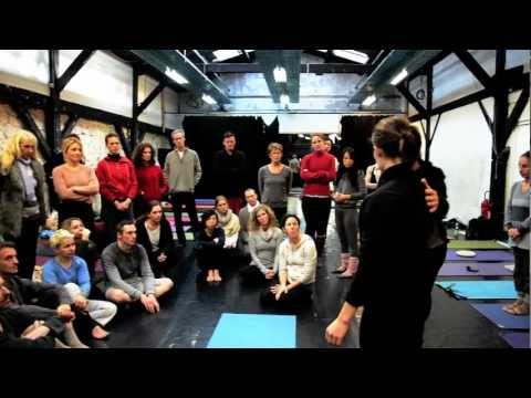 Ron Reid & Marla Meenakshi Joy at Ashtanga Yoga Paris