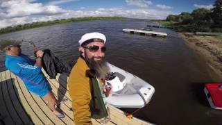 Лодка BRIG 3м. с мотором Yamaha 9.9(Испытали новую лодку. Вдвоем идет до 40 км/ч. Мотор Yamaha 9,9 л.с раскачен до 15 л.с Вот небольшие каталки на весело..., 2016-06-06T12:47:21.000Z)